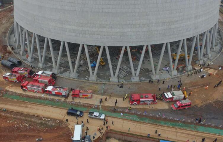 宜春工地坍塌事故搜救接近尾声74人死亡_中国消防公司