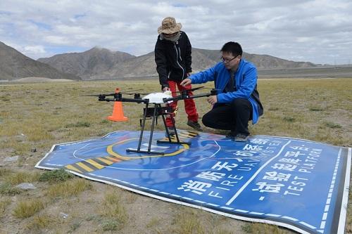 消防无人机系统首次高原飞行性能检验顺利完成_中国消防公司