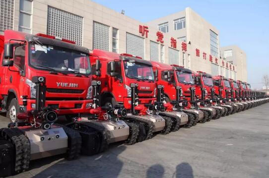 河北唐山消防队列装中信开诚智能30台消防机_中国消防公司