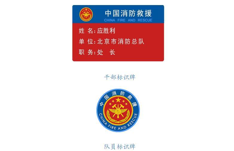 应急管理部发布国家综合性消防救援队伍  改革过渡期身份标识牌_中国消防网