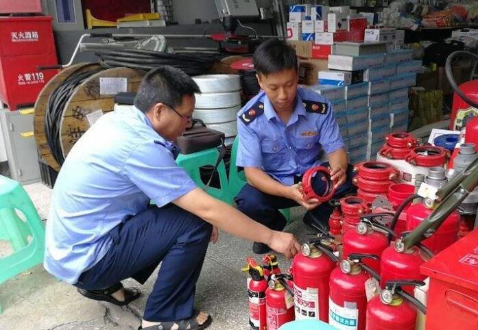 广东消防抽查消防器材商品质量不合格率达到17.76%_中国消防公司